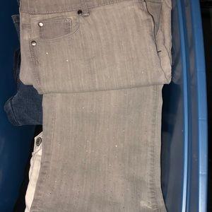 Chico's Platinum Straight Leg Ultimate Fit pant